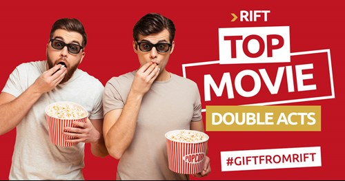 RIFT's top 10 movie double acts for Refer a Friend